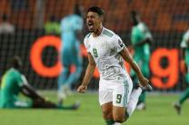 Senegal 0 Algeria 1: Deflected early Bounedjah goal enough for AFCON glory