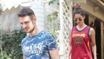 Disha Patani spotted again with a mystery man in Bandra — Pics inside