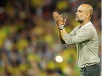 Pep Guardiola still 'in love' with Manchester City players despite shock Norwich defeat