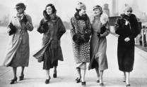 Mid-season fur coats and frocks – fashion archive, 1938