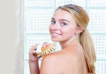 Brush your skin for a healthy glow