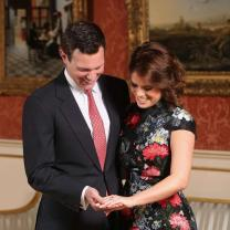Princess Eugenie Remembers Her Engagement 1 Year Later: Look Back at Her Royal Wedding Photos