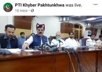 Pakistan Government Accidentally Turns Cat Filter On During Live Stream