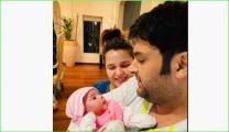 Kapil Sharma And Ginni Chatrath Gets Anayra's Hand And Feet Impression