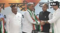 Rajasthan BJP MP joins Congress