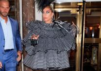 Lady Gaga: Star makes bold fashion statement at pre-Met Gala dinner