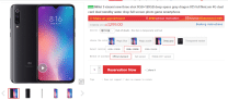Xiaomi Mi 9 still available for buying, stocks are finally stable
