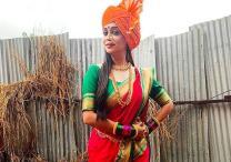Dipika Kakar dons the Marathi Mulgi look for Kahaan Hum Kahaan Tum