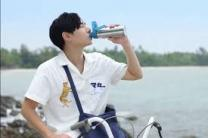 Popular Thai star Peck Palitchoke promotes 'Thailand Reduce Waste campaign