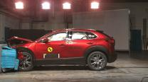 Mazda CX-30 records near-perfect score in Euro NCAP test, Mercedes GLB and Ford Explorer Hybrid get 5-star rating