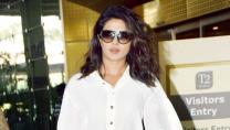 Priyanka Chopra returns from Delhi after shooting for 'The White Tiger'—Pics