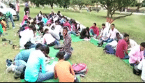 Bihar: Students forced to write exam on open grounds; here's the reason