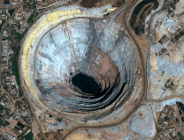 What would happen to the earth if a large hole was drilled through the center? Must read