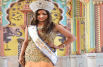 This female is the most beautiful tribal woman of India, was a runner-up at Mrs India