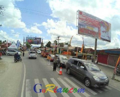 Gubernur Riau Minta Seluruh Personel Gabungan All Out Hadapi Puncak Arus Mudik Pada H-2 Nanti
