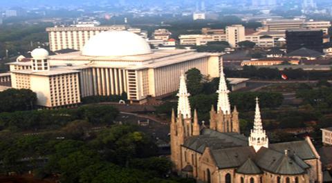 Hormati Muslim Rayakan Lebaran, Katedral Ubah Jadwal Misa