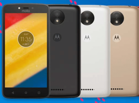 Moto C Plus Budget Smartphone With 4000mAh Battery Launched in India
