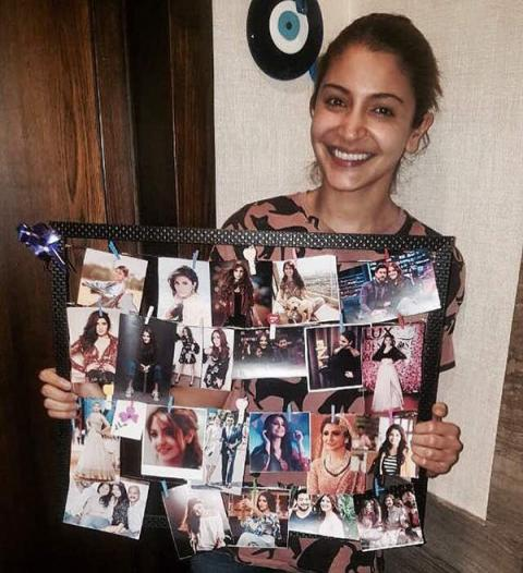 Anushka Sharma Birthday Gift From a fan