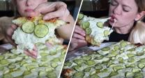 Pizzeria Invents Pickle-Covered Pizza Of Dreams