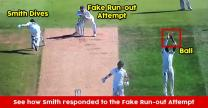 """Steve Smith Got Fooled By Fake Run-Out Attempt Of Jonny Bairstow; Steve Confesses, """"He Got Me"""""""