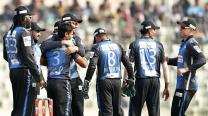 Chris Gayle and Alex Hales hit fifties as Rangpur pull off steep chase