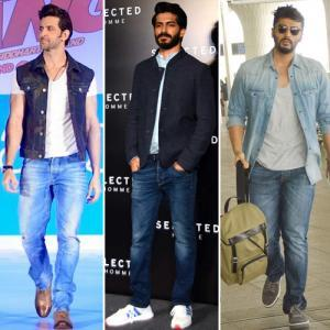 Wear classic pair of blue denims in 6 different ways