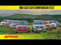 Kia Seltos & MG Hector vs every rival video comparison review