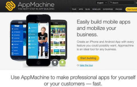 AppMachine - Create Android App Without Coding