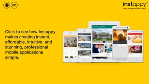 Instappy - Create Android App Without Coding